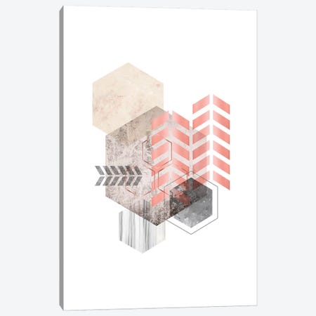 Hexagonal Geo II Canvas Print #URE99} by Urban Epiphany Canvas Art Print