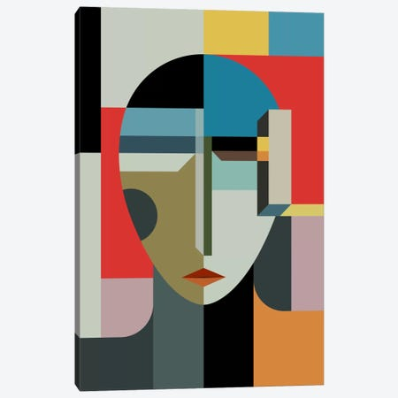 Woman Of When Canvas Print #USL100} by The Usual Designers Canvas Art