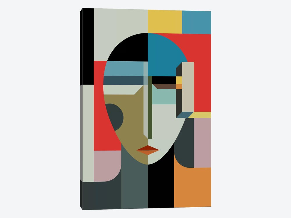 Woman Of When by The Usual Designers 1-piece Canvas Print
