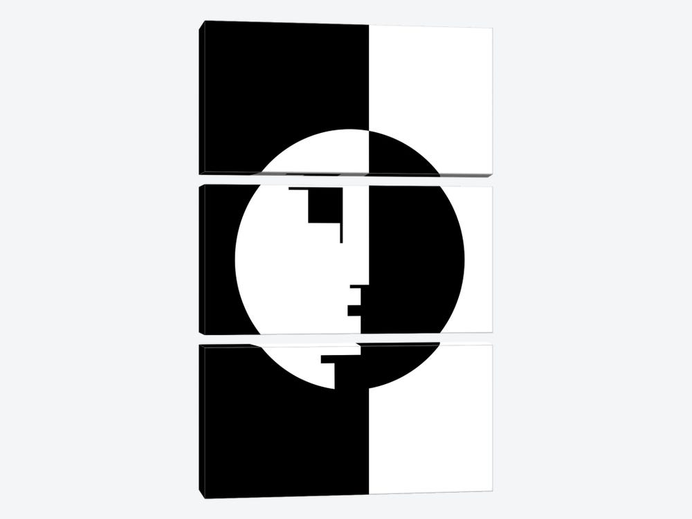 Bauhaus! by The Usual Designers 3-piece Canvas Art Print