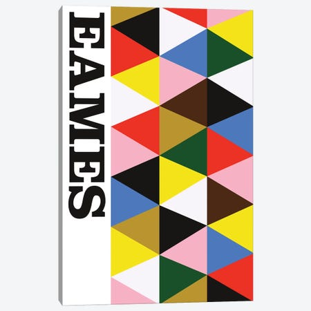 Eames! Canvas Print #USL108} by The Usual Designers Canvas Artwork