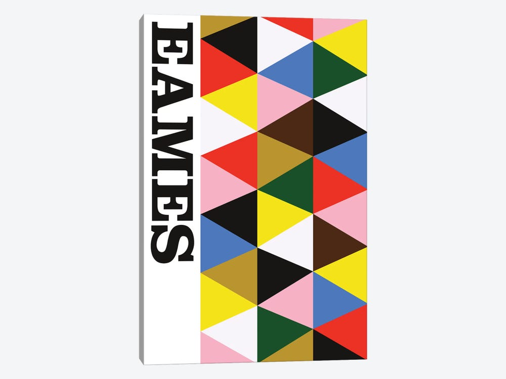 Eames! by The Usual Designers 1-piece Art Print