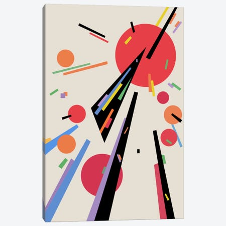 Attraction Canvas Print #USL10} by The Usual Designers Art Print