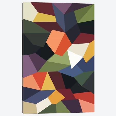 Falling Rocks Canvas Print #USL110} by The Usual Designers Art Print
