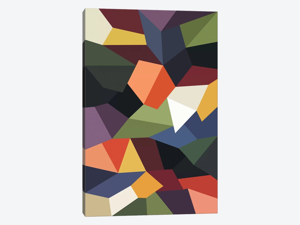 Falling Rocks by The Usual Designers 1-piece Canvas Art