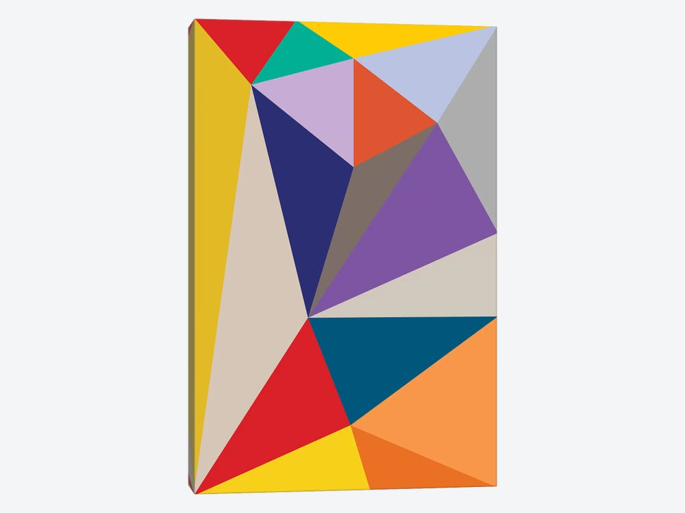 Flatland by The Usual Designers 1-piece Canvas Artwork