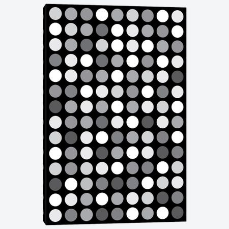 Grey's Black Canvas Print #USL114} by The Usual Designers Canvas Artwork