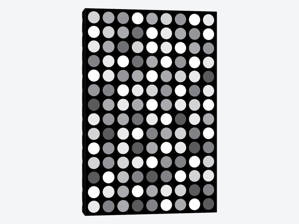 Grey's Black by The Usual Designers 1-piece Canvas Wall Art