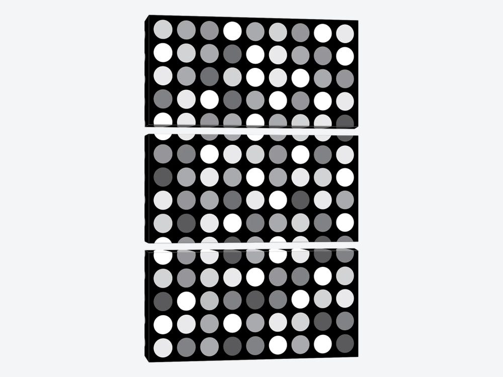 Grey's Black by The Usual Designers 3-piece Canvas Art