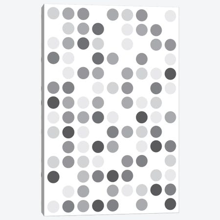 Grey's White Canvas Print #USL115} by The Usual Designers Canvas Wall Art