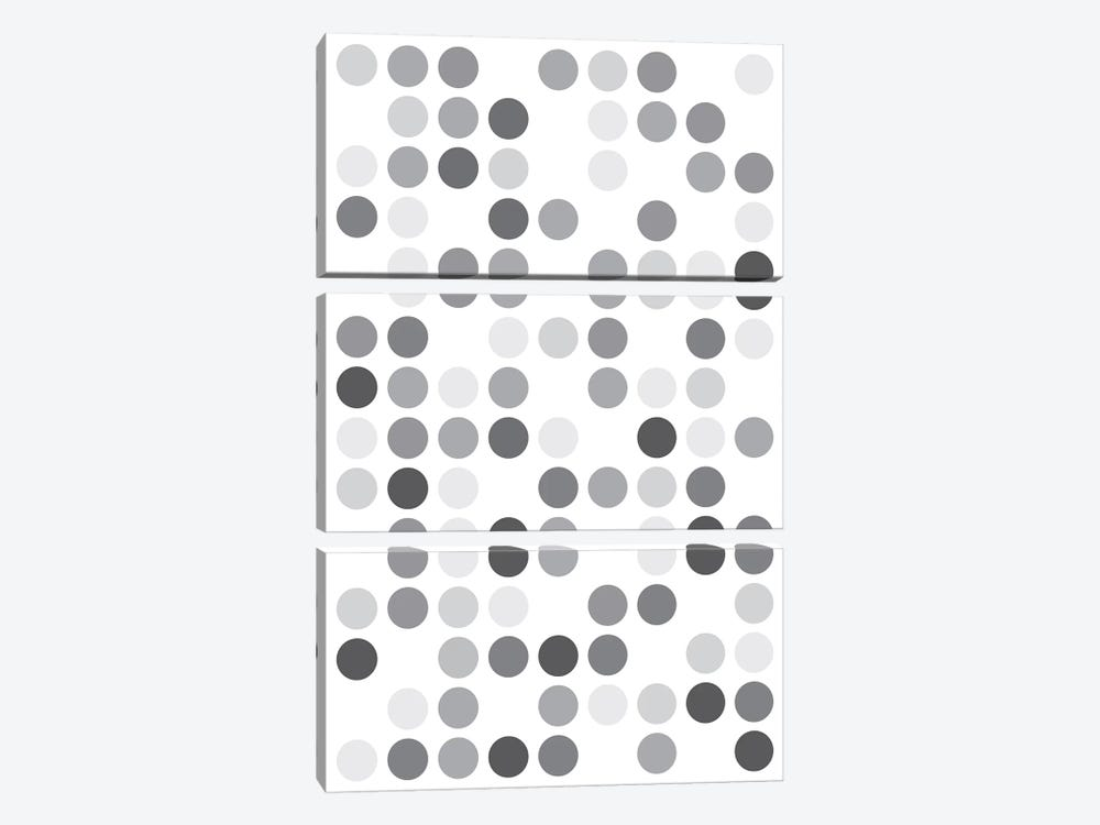 Grey's White by The Usual Designers 3-piece Art Print