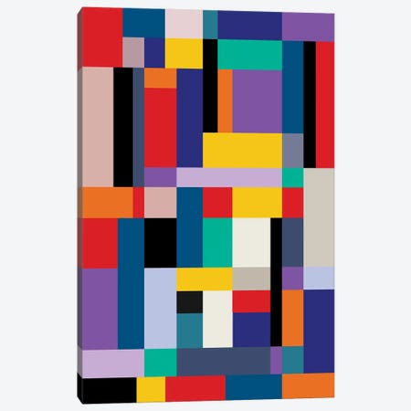 Modernism Two Canvas Print #USL120} by The Usual Designers Canvas Art