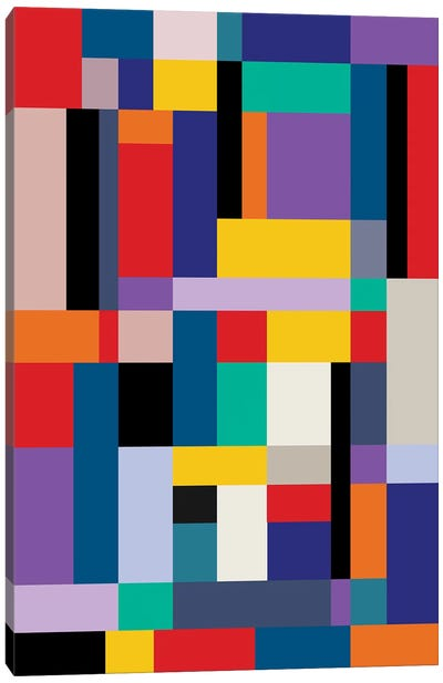 Modernism Two Canvas Art Print