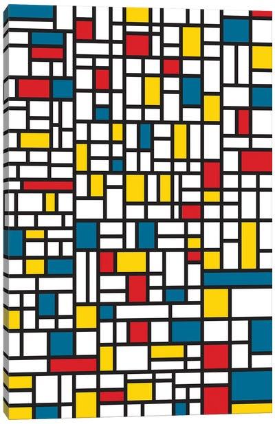 Mondrian Extreme Canvas Art Print