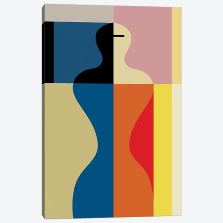 Schlemmer's Womanhood Canvas Print #USL123} by The Usual Designers Canvas Artwork