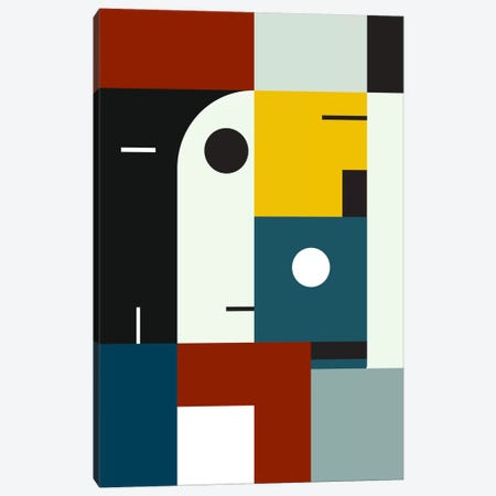 Bauhaus Age Canvas Print #USL12} by The Usual Designers Canvas Art Print