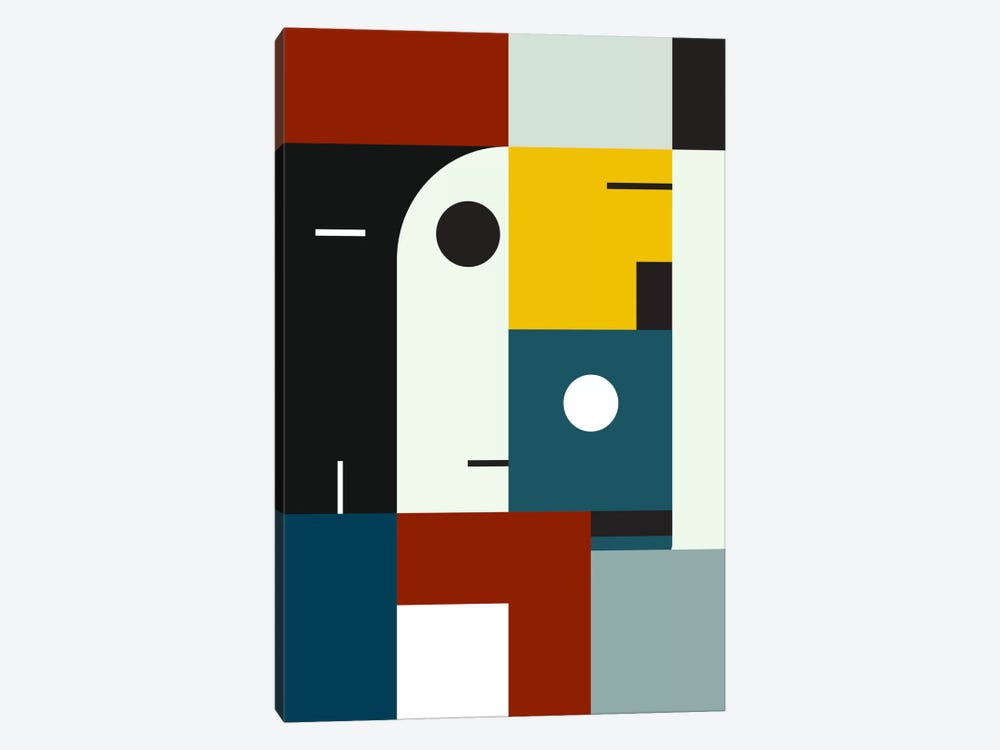Bauhaus Age by The Usual Designers 1-piece Canvas Art