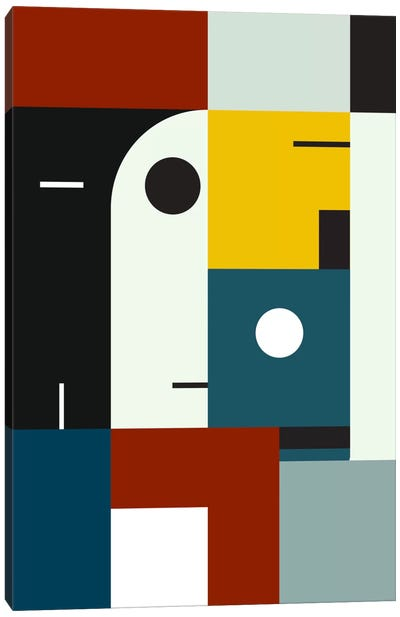 Bauhaus Age Canvas Art Print