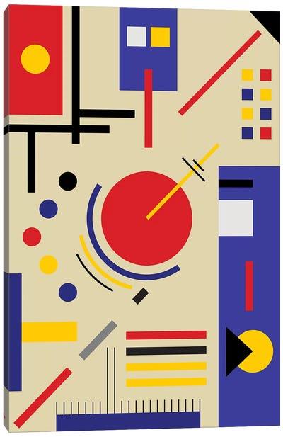 Bauhaus Astronomy Canvas Art Print