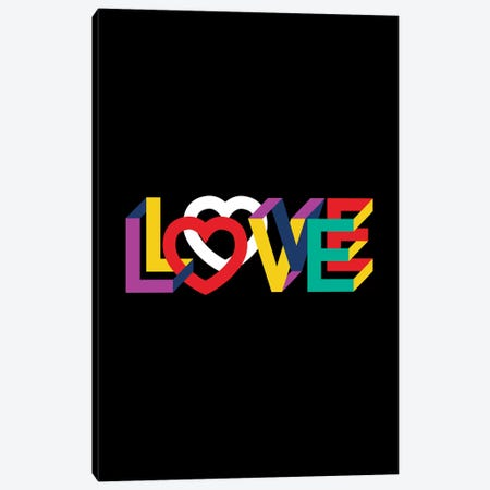 In Love Everything Is Right Canvas Print #USL132} by The Usual Designers Canvas Art Print
