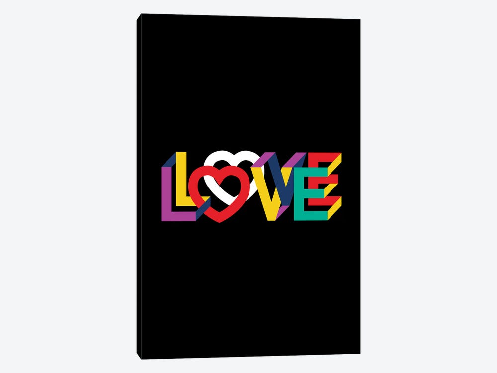 In Love Everything Is Right by The Usual Designers 1-piece Canvas Art