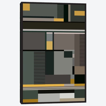 Bauhaus Arte Canvas Print #USL13} by The Usual Designers Canvas Art Print