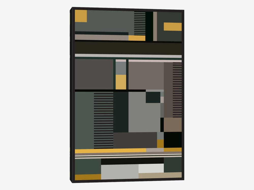 Bauhaus Arte by The Usual Designers 1-piece Canvas Print