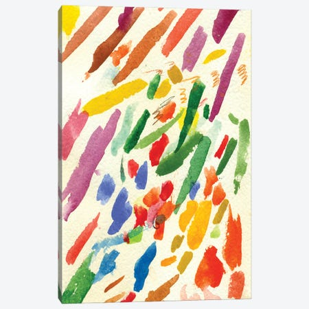 Strokes I Canvas Print #USL143} by The Usual Designers Canvas Art