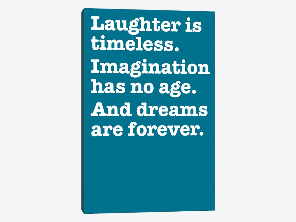 Imagination And Dreams (Blue) by The Usual Designers 1-piece Canvas Artwork