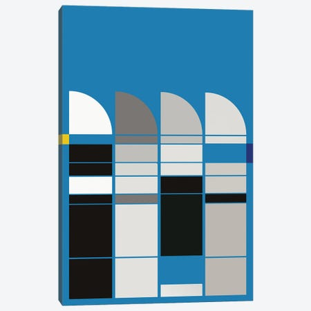 BAUHAUS MUSEUM Canvas Print #USL148} by The Usual Designers Canvas Artwork