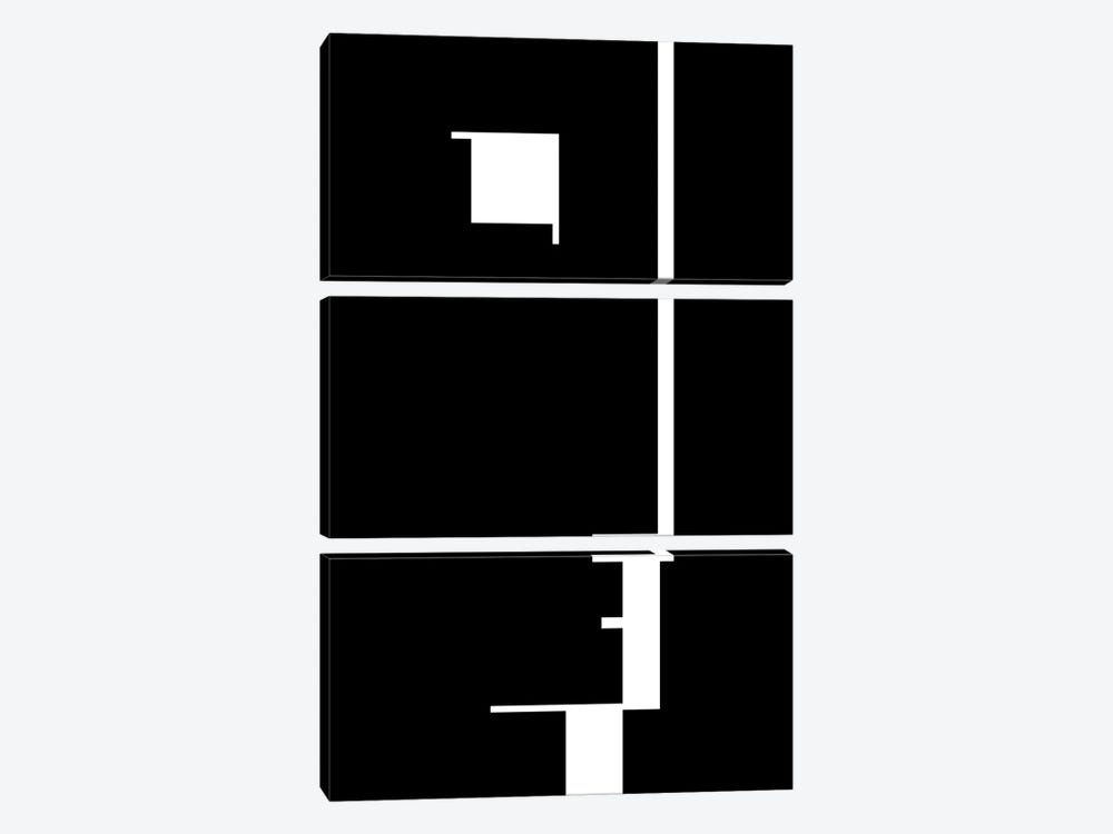 Bauhaus Austellung, 1923 by The Usual Designers 3-piece Canvas Art
