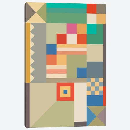 BAUHAUS DESIGN Canvas Print #USL150} by The Usual Designers Art Print