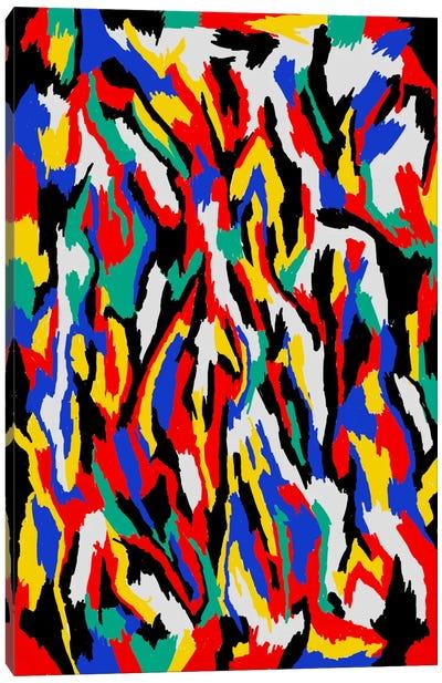 Bauhaus Camouflage Canvas Print #USL15