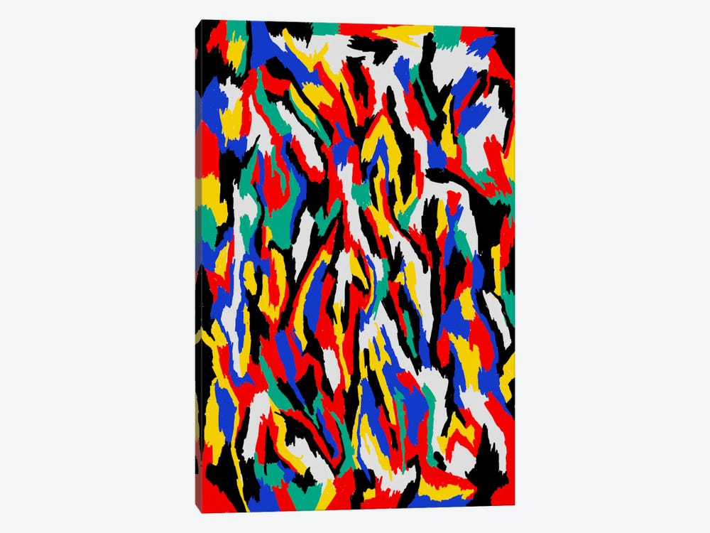 Bauhaus Camouflage 1-piece Canvas Art Print