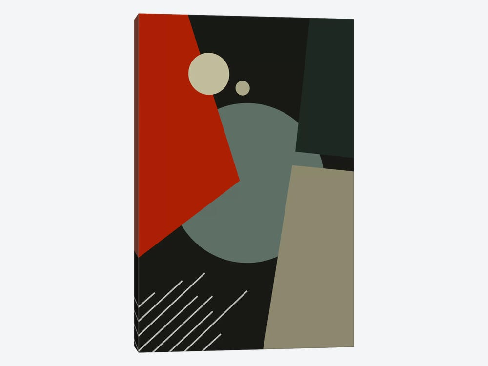 Bauhaus Going To Mars by The Usual Designers 1-piece Canvas Wall Art