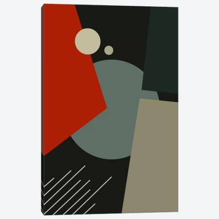 Bauhaus Going To Mars Canvas Print #USL16} by The Usual Designers Canvas Art