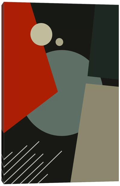 Bauhaus Going To Mars Canvas Art Print