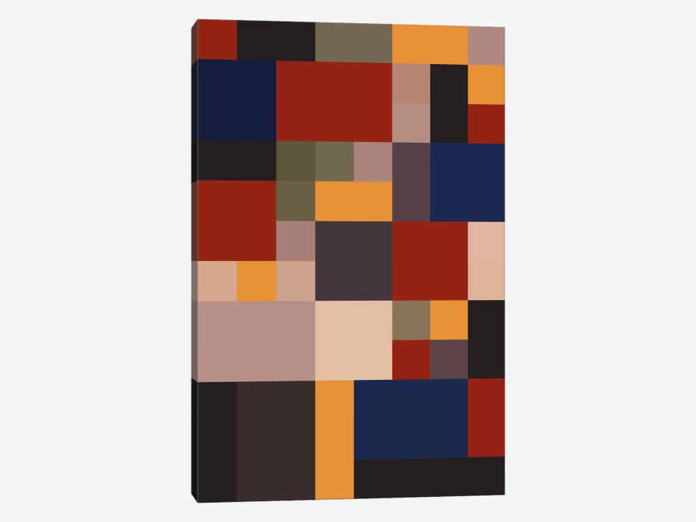 Bauhaus Lives by The Usual Designers 1-piece Canvas Art Print
