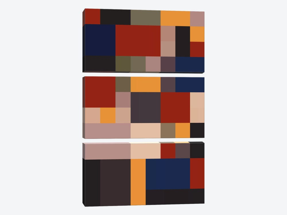 Bauhaus Lives by The Usual Designers 3-piece Canvas Art Print