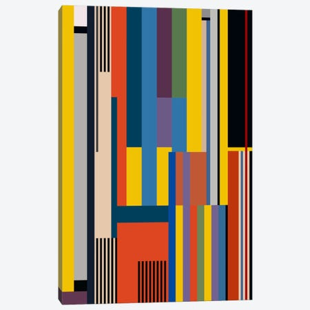Bauhaus Rising Canvas Print #USL18} by The Usual Designers Canvas Art Print