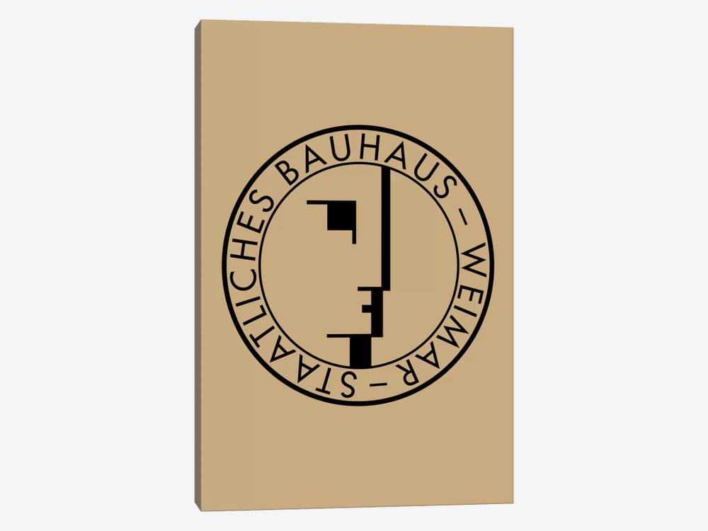 Bauhaus Weimar by The Usual Designers 1-piece Canvas Print
