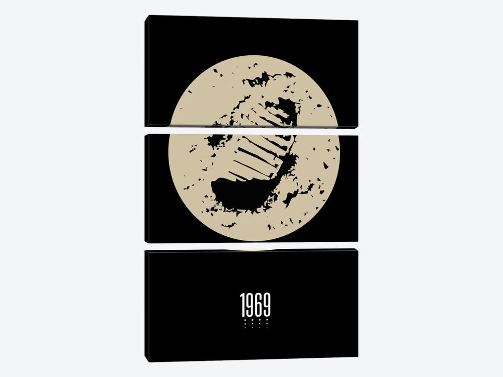 1969 by The Usual Designers 3-piece Canvas Art Print