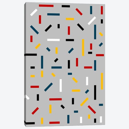 Before Mondrian Canvas Print #USL21} by The Usual Designers Canvas Art