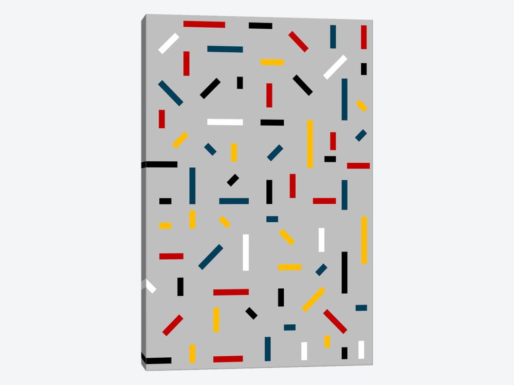 Before Mondrian by The Usual Designers 1-piece Canvas Art