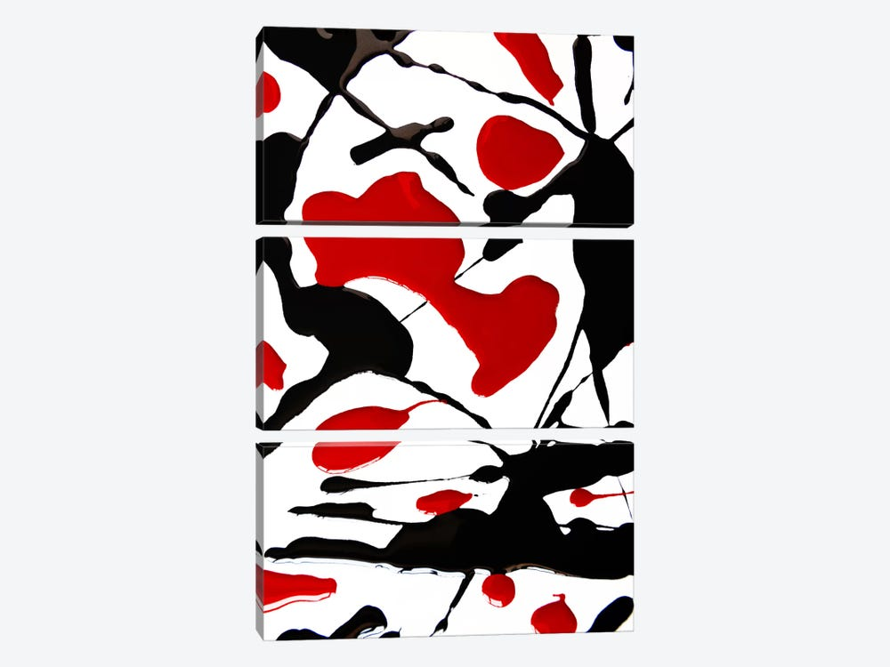 Blood In by The Usual Designers 3-piece Art Print