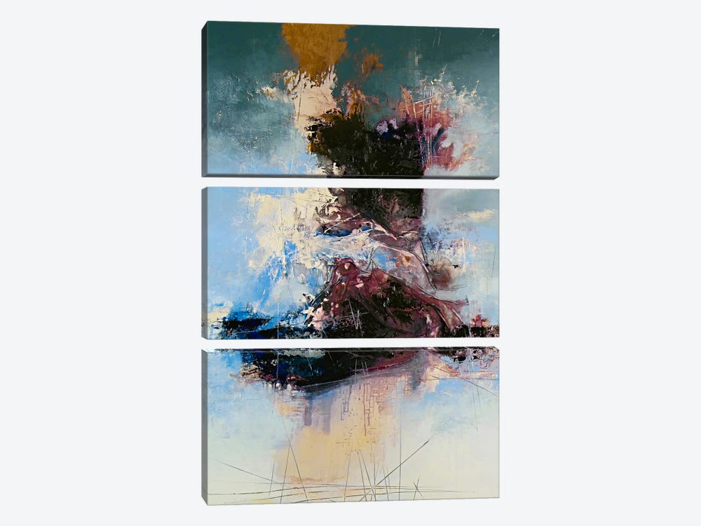 Cathartic by The Usual Designers 3-piece Canvas Art
