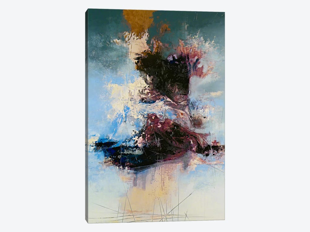 Cathartic by The Usual Designers 1-piece Canvas Wall Art