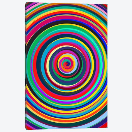 Cirque Canvas Print #USL29} by The Usual Designers Canvas Wall Art