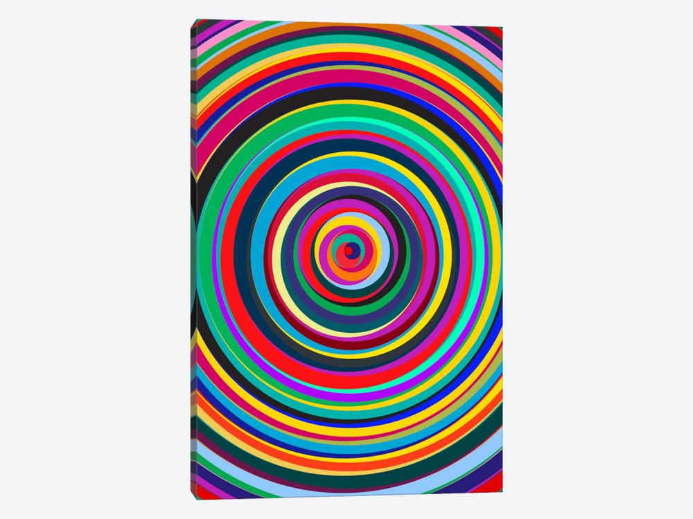 Cirque by The Usual Designers 1-piece Canvas Artwork