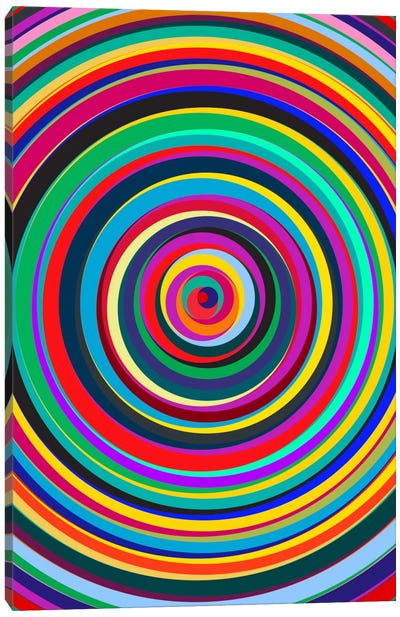 Cirque Canvas Art Print